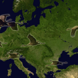 migration cranes europe